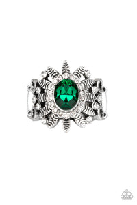Paparazzi Burn Bright Green Ring