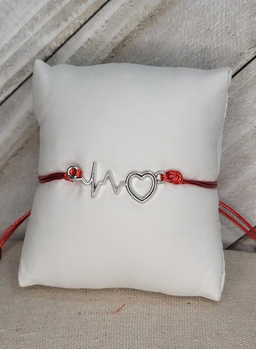 Paparazzi Exclusive Cardiac Couture Red Bracelet