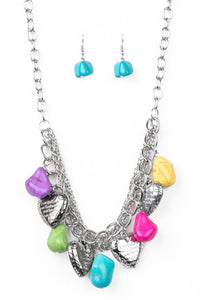 Paparazzi Change Of Heart Multi Necklace Set