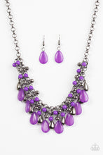 Load image into Gallery viewer, Paparazzi Diva Attitude Purple Necklace Set