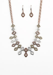 Paparazzi Geocentric Multi Necklace Set