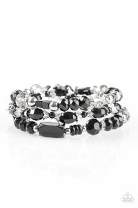 Paparazzi Girl Boss Black Bracelets