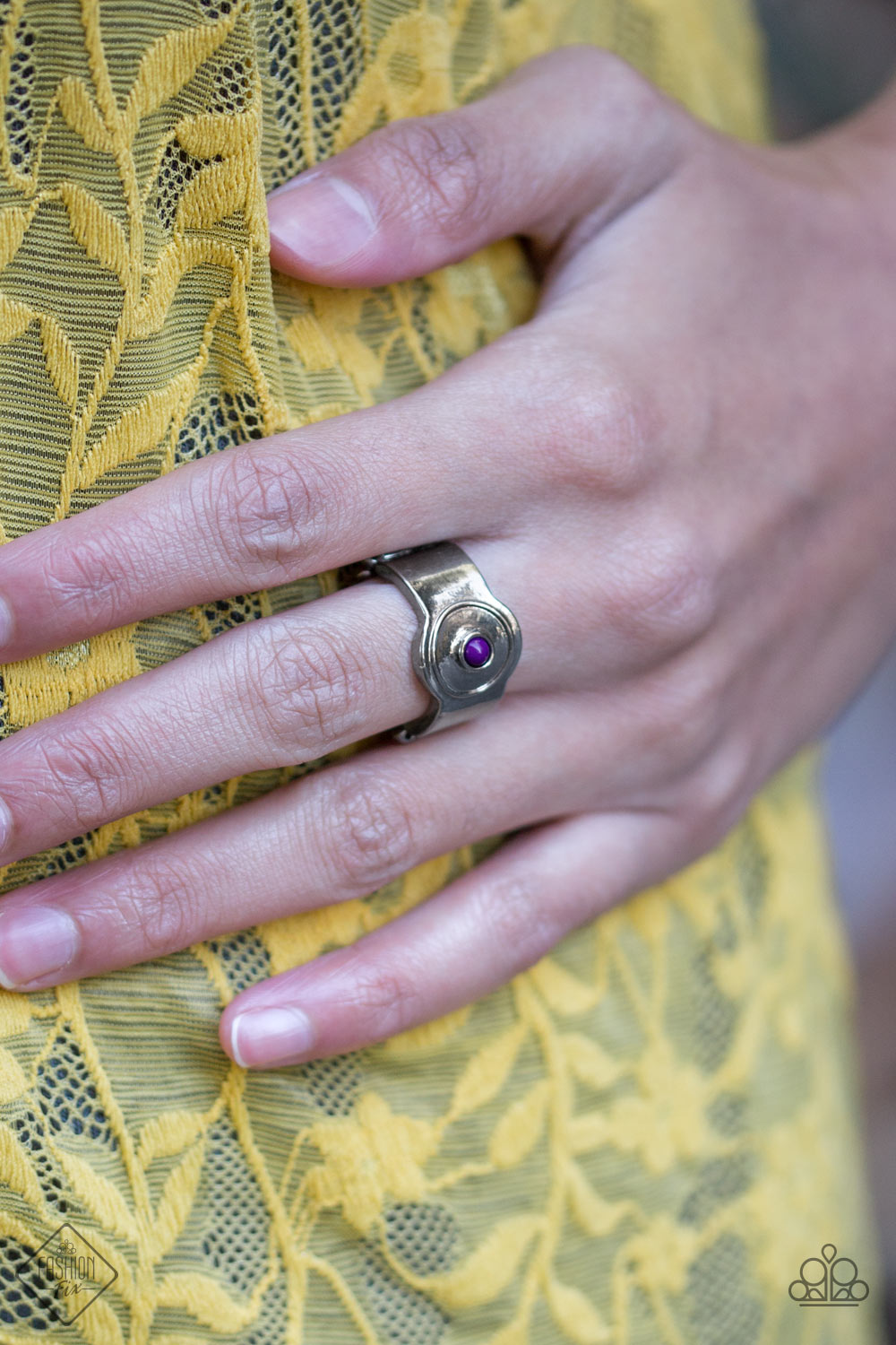 Paparazzi Can't BEAD That! Purple Ring