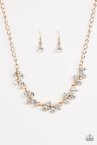 Paparazzi Hollywood Hills Gold Necklace Set