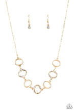Load image into Gallery viewer, Paparazzi  Inner Beauty Gold Necklace Set