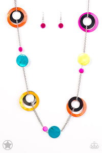 Paparazzi Blockbuster Kaleidoscopically Captivating Necklace Set