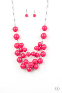 Paparazzi Miss Pop-YOU-larity Pink Necklace Set