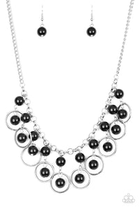 Really Rococo Black Bead Necklace Set