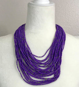 Paparazzi Exclusive Rio Rainforest Purple Necklace Set