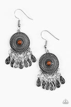 Load image into Gallery viewer, Paparazzi Sahara Sunsets Brown Earrings