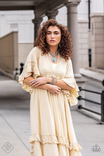 Item #SSF-0221 Earthy, desert-inspired designs are what the Simply Santa Fe collection is all about. Natural stones, indigenous patterns, and vibrant colors of the Southwest are sprinkled throughout this trendy collection.  Includes one of each accessory featured in the Simply Santa Fe Trend Blend in February's Fashion Fix: