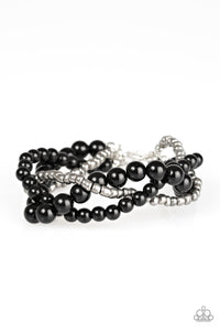 Paparazzi Take The BEAD Black Bracelet