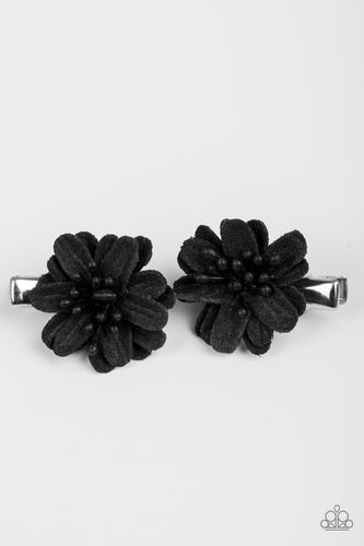 The Love BUD Black Hair Clips