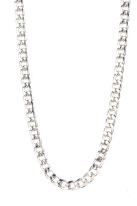 Paparazzi The Underdog Silver Men's Necklace