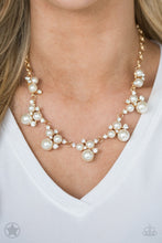 Load image into Gallery viewer, Paparazzi Blockbuster Toast To Perfection White Necklace Set