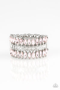 Paparazzi Treasury Fund Pink Ring