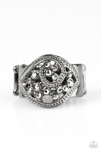 Paparazzi Tsunami Shine Black Ring
