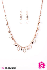 Paparazzi Twinkle At Twilight Copper Necklace Set