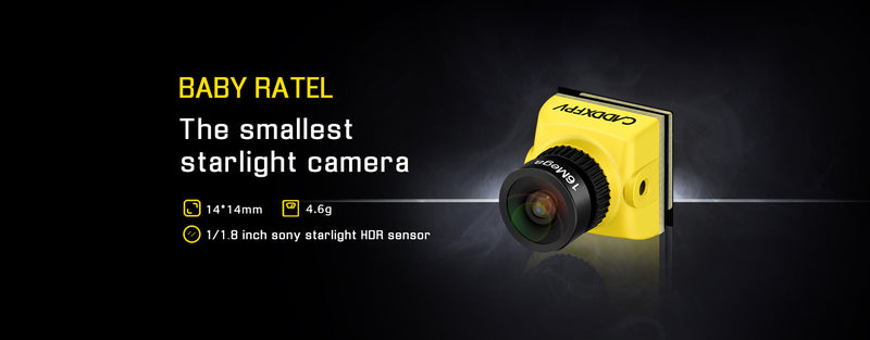 The smallest starlight camera is coming