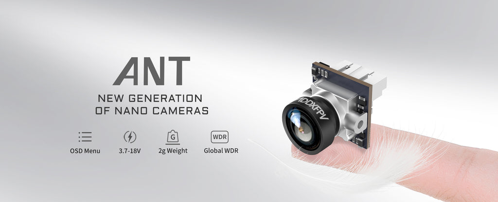 CADDX ANT--Release Date: May 5th, 2020 New Generation of Nano Camera, The BEST One Beyond Imagination...