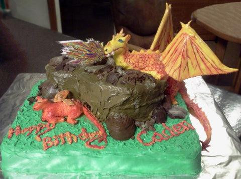 Cake mountain and Dragon