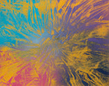 Abstract 136 Spray Paint on Canvas