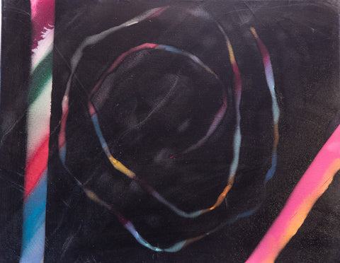 Abstract 168 Spray Paint on Canvas