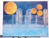 City 108 Spray Paint on Canvas