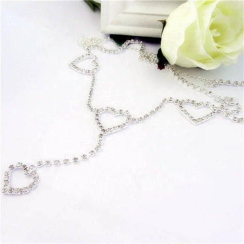 Heart Diamond Chain