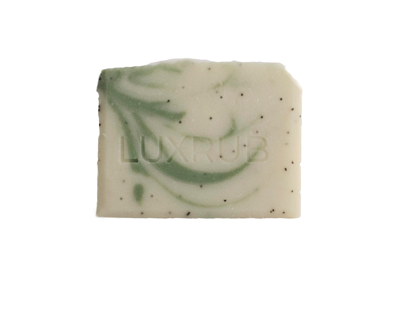 'CREAMY AVOCADO' AVOCADO EXTRACT + POPPY SEED SOAP