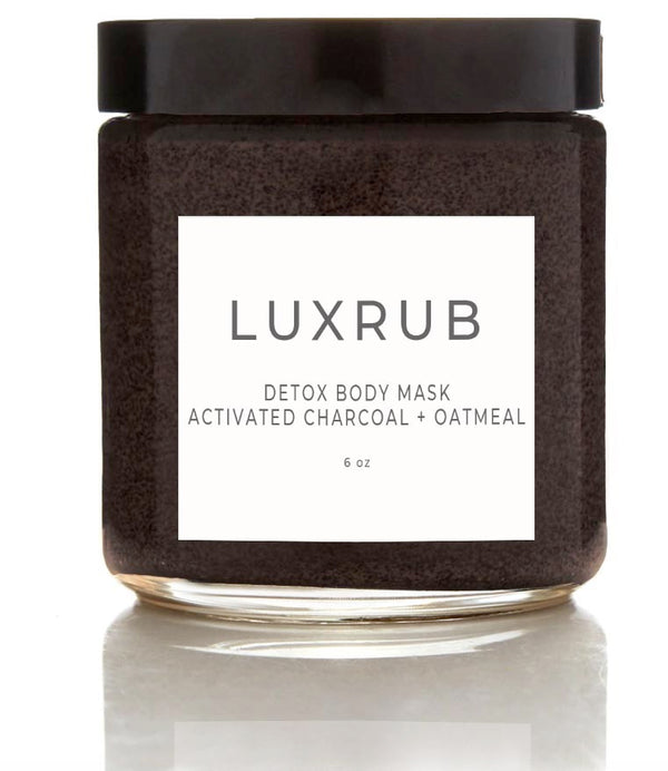 DETOX MUD MASK ACTIVATED CHARCOAL + OATMEAL WITH CHAMOMILE