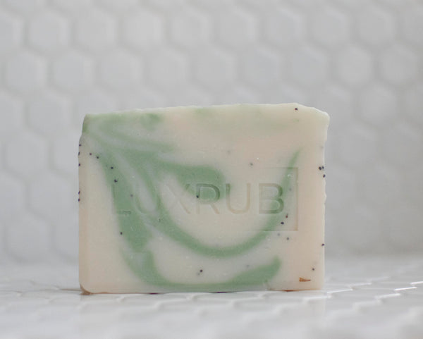 'CREAMY AVOCADO' + POPPY SEED SOAP