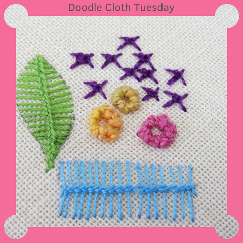 Hand embroidery stitches free tutorial
