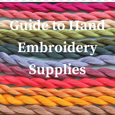 hand embroidery guide