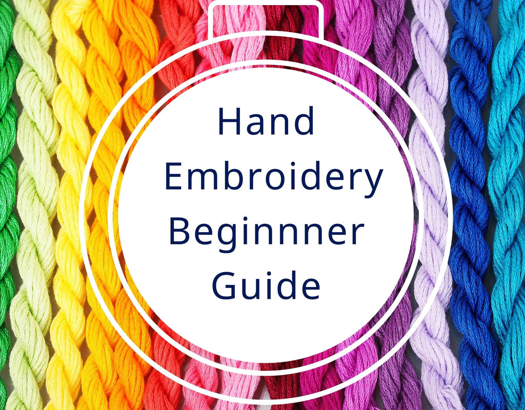 hand embroidery beginner guide