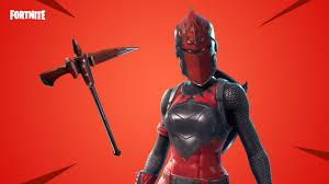 FORTNITE RED KNIGHT ACCOUNT