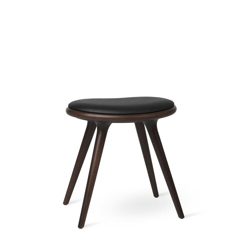 Low Stool | Dark stained beech