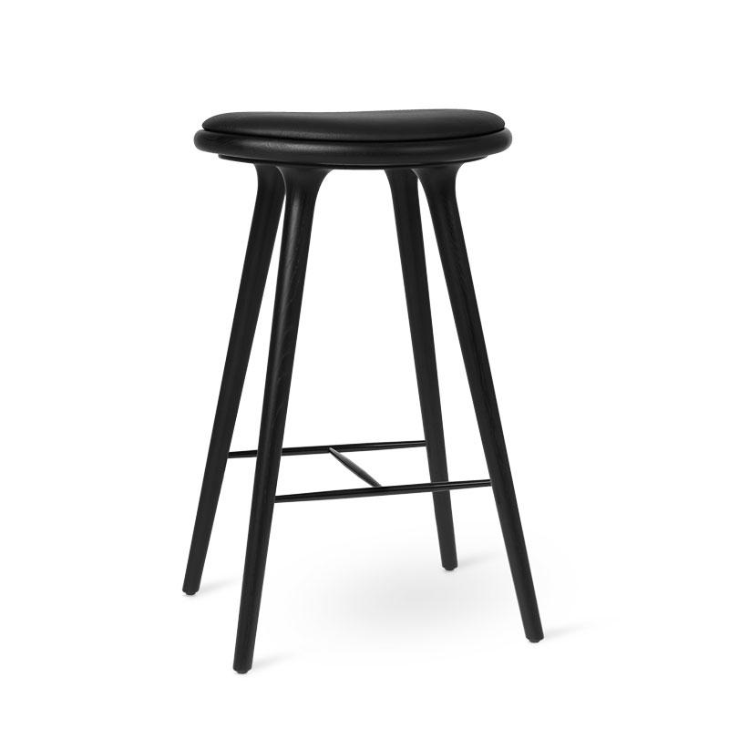 High Stool | Black stained oak | Bar