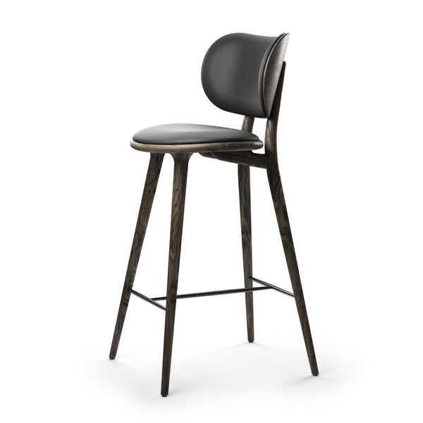 High Stool Backrest | Sirka grey oak | 29.1""