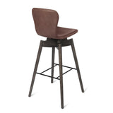 Shell Bar Stool | Ultra Black | Bar