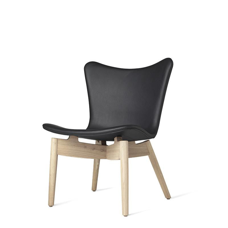 Shell Lounge Chair | Ultra Black