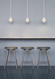 High Stool | Sirka grey stained oak | Bar