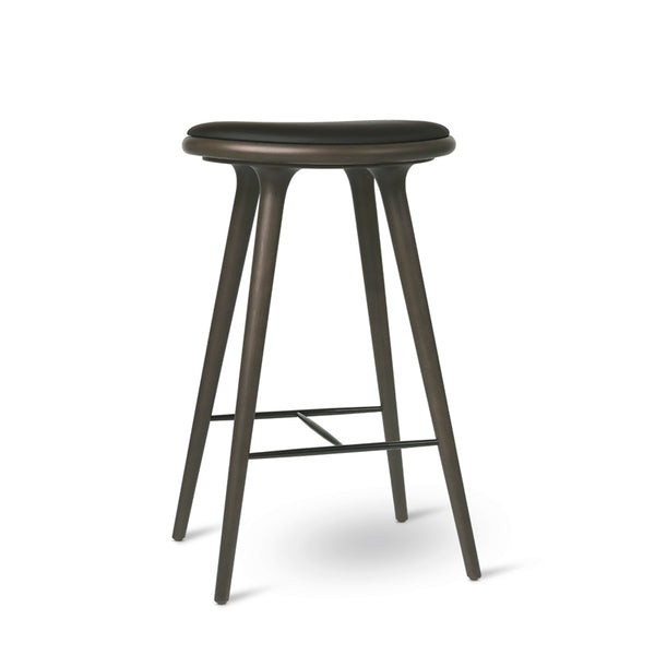 High Stool | Sirka Grey stained beech | Bar