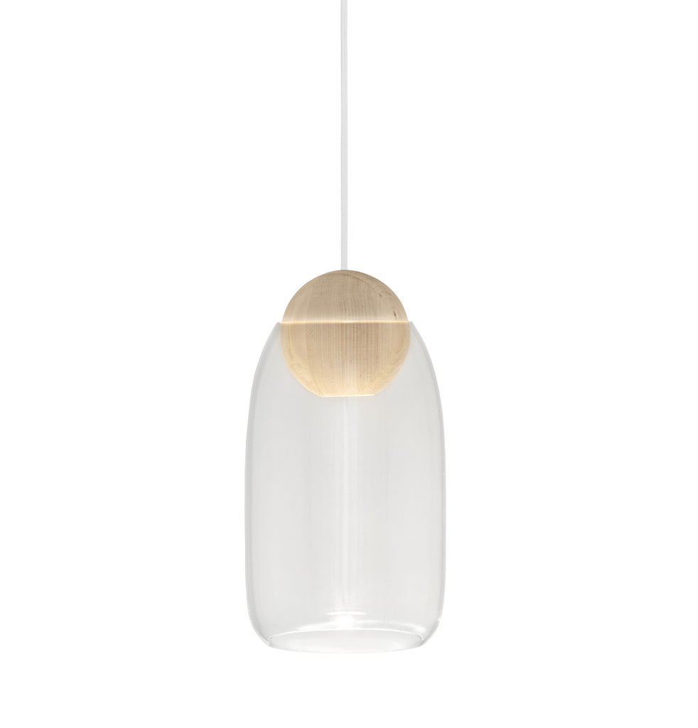 Liuku Glass Shade | Smoke