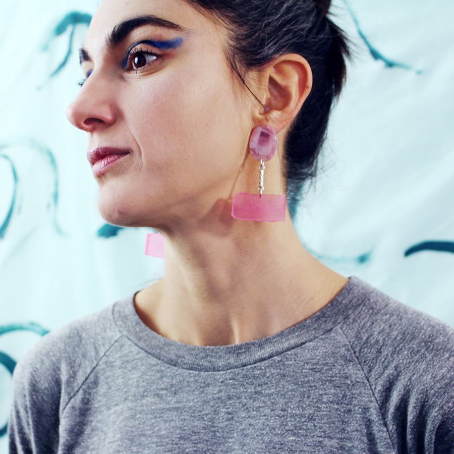 poesis earrings /MATTO