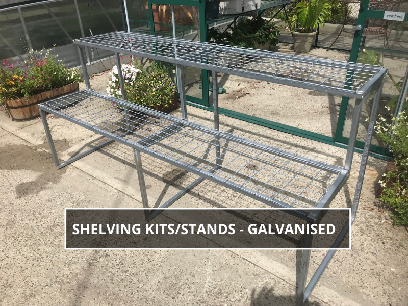Galvanised Shelving