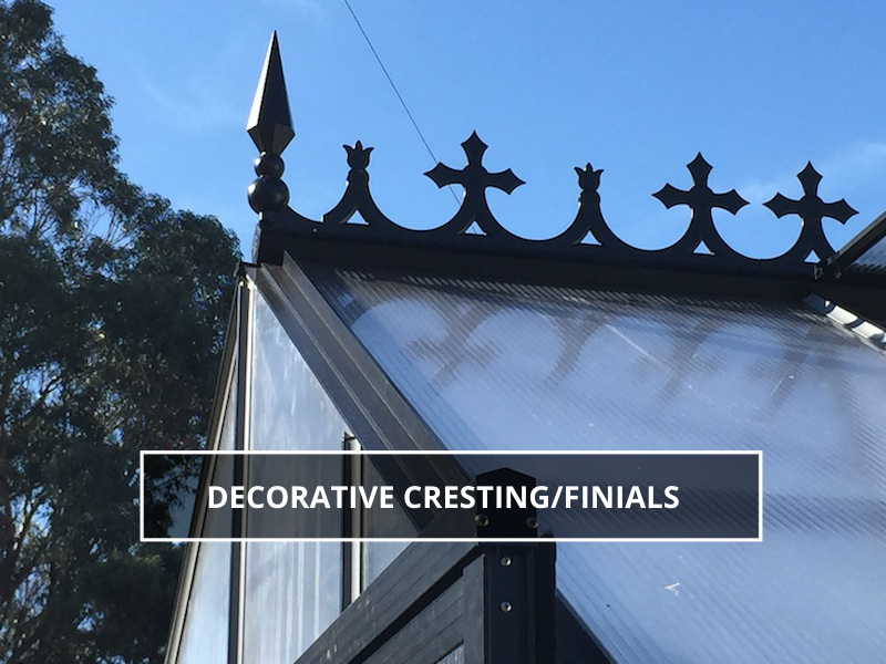 Decorative Cresting/Finials