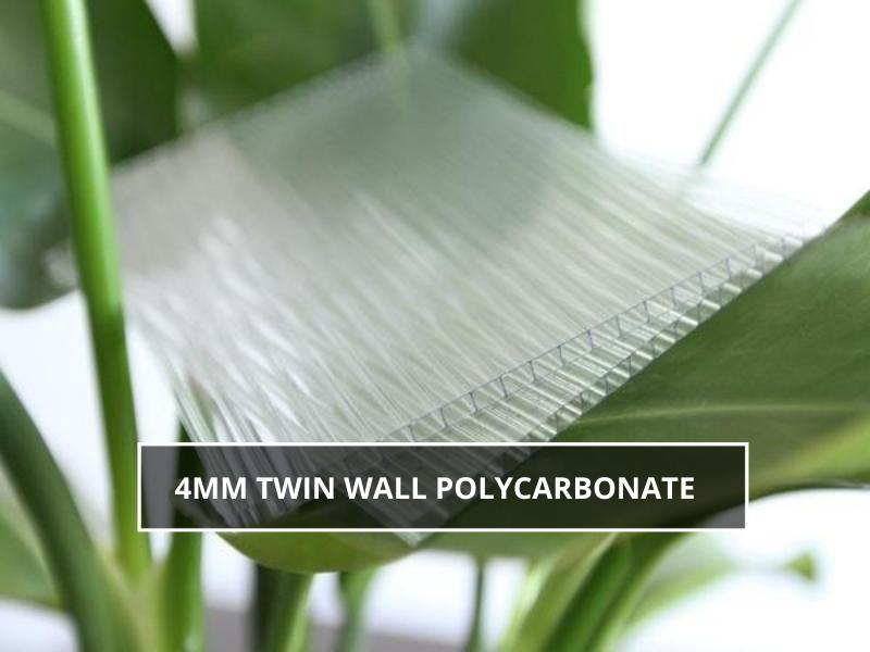 4mm Twin Wall Polycarbonate