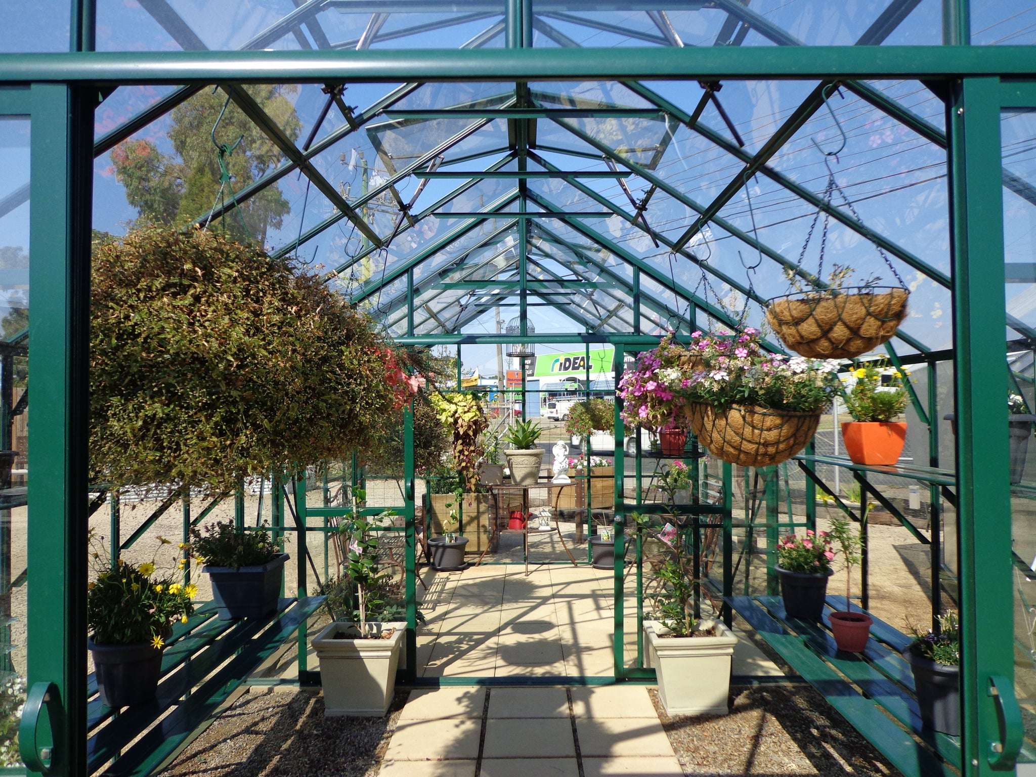 Grow-Fresh Greenhouses- Windsor Single/Double Door Greenhouse Partition
