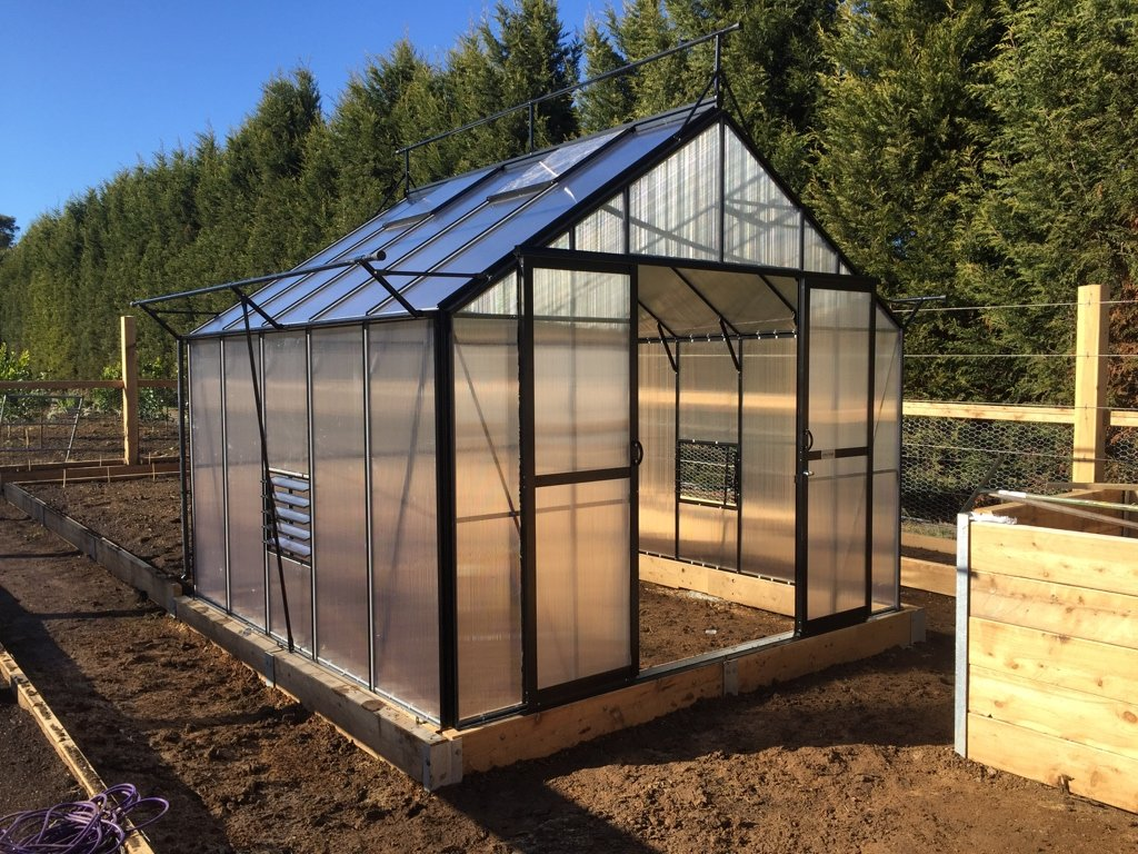 Grow-Fresh Greenhouses Stately Deluxe 3200 (Black)